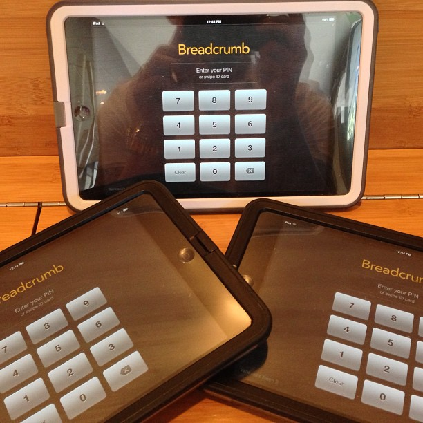 Breadcrumb Ipad POS at Vanessa's Bistro 2 - Walnut Creek