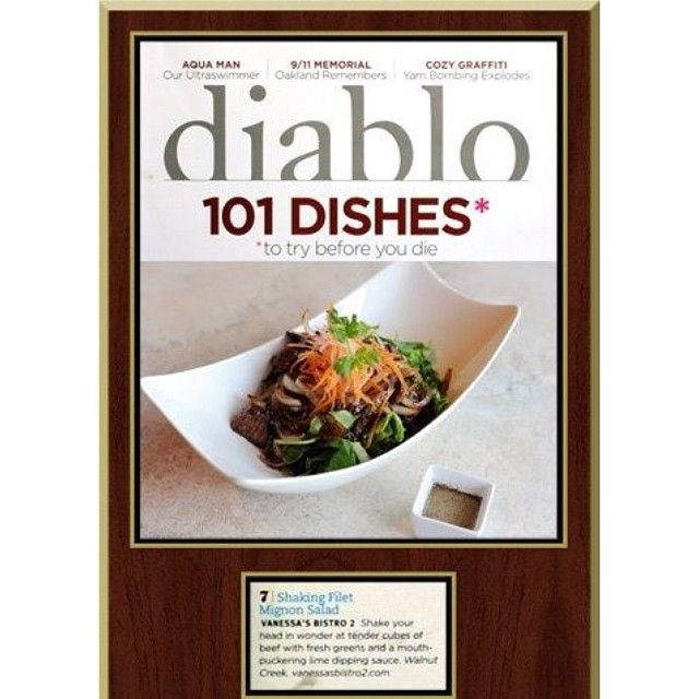 Diablo Magazine and Vanessa's Bistro 2