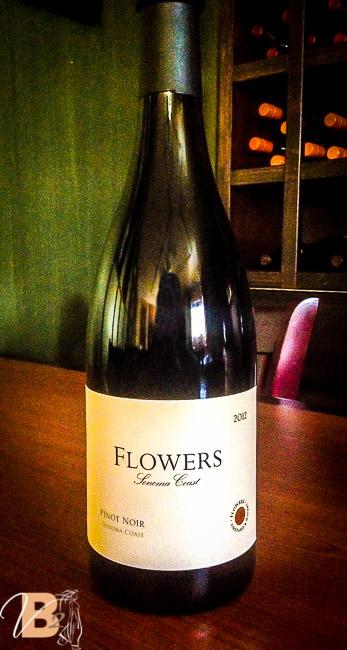 Flowers Pinot Noir Vanessa's Bistro 2